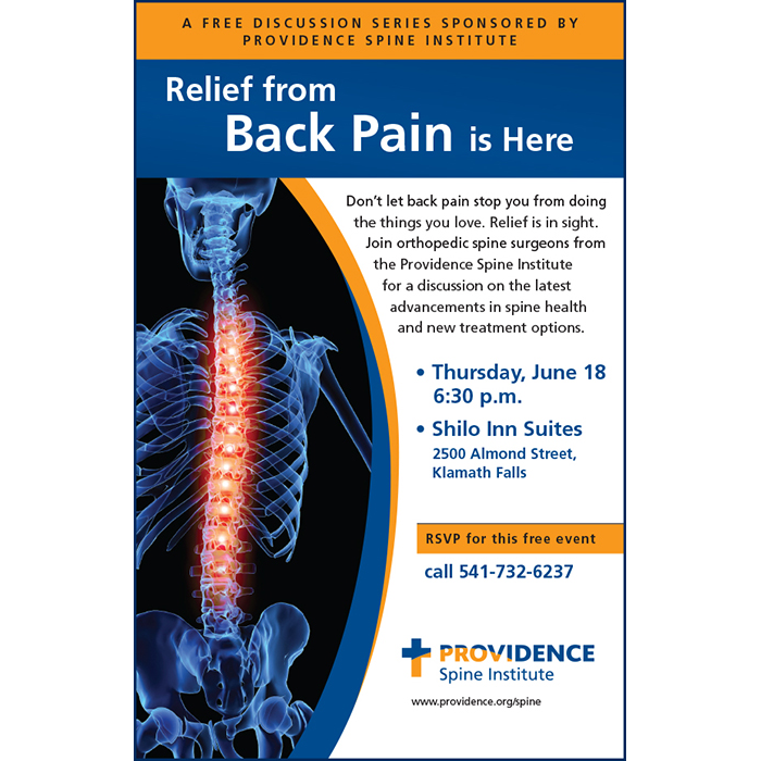 Ad: Prividence Back Pain