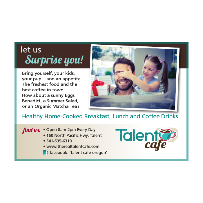 Ad: Talent Cafe