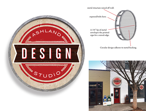 Logo Ashland Design Studio