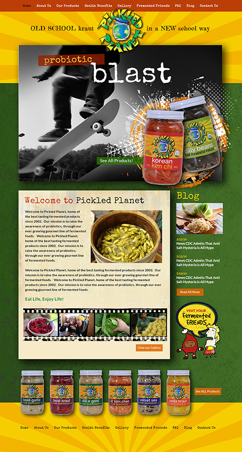 Website Pickled Planet